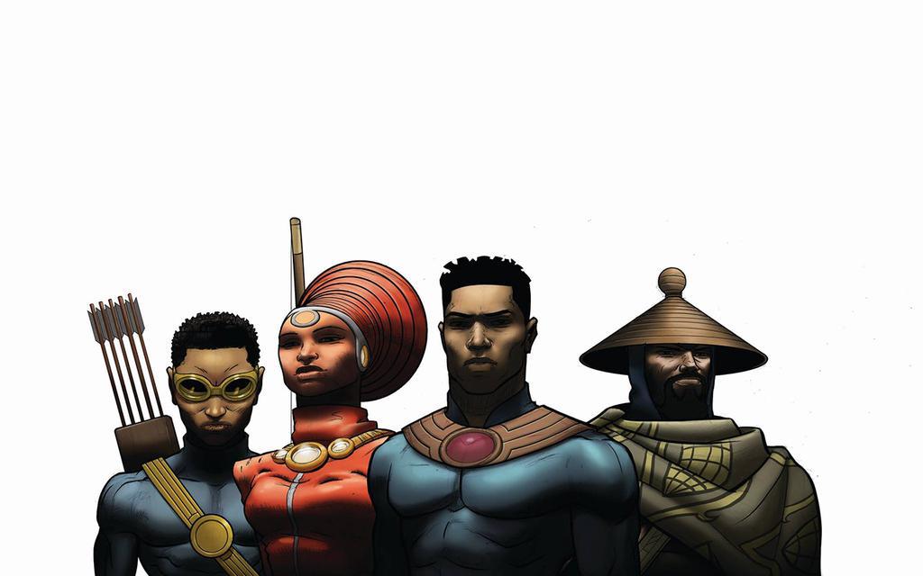 African Super Hero Comic